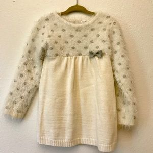 Petitlem girls dress with tights